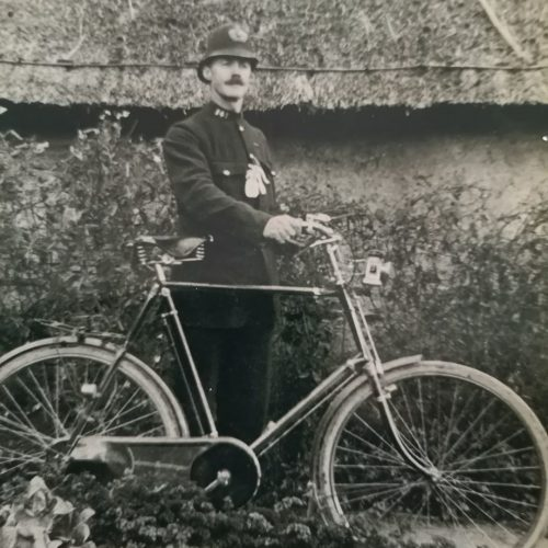 Joseph Whitmore Higgs the last resident police officer for Thornborough